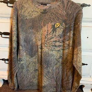 New mossy oak men's long sleeve
